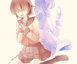 anime, yuri, and corpse party image