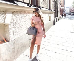 kenza zouiten, blogger, and fashion image