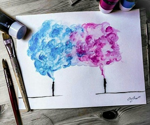 art, draw, and think image