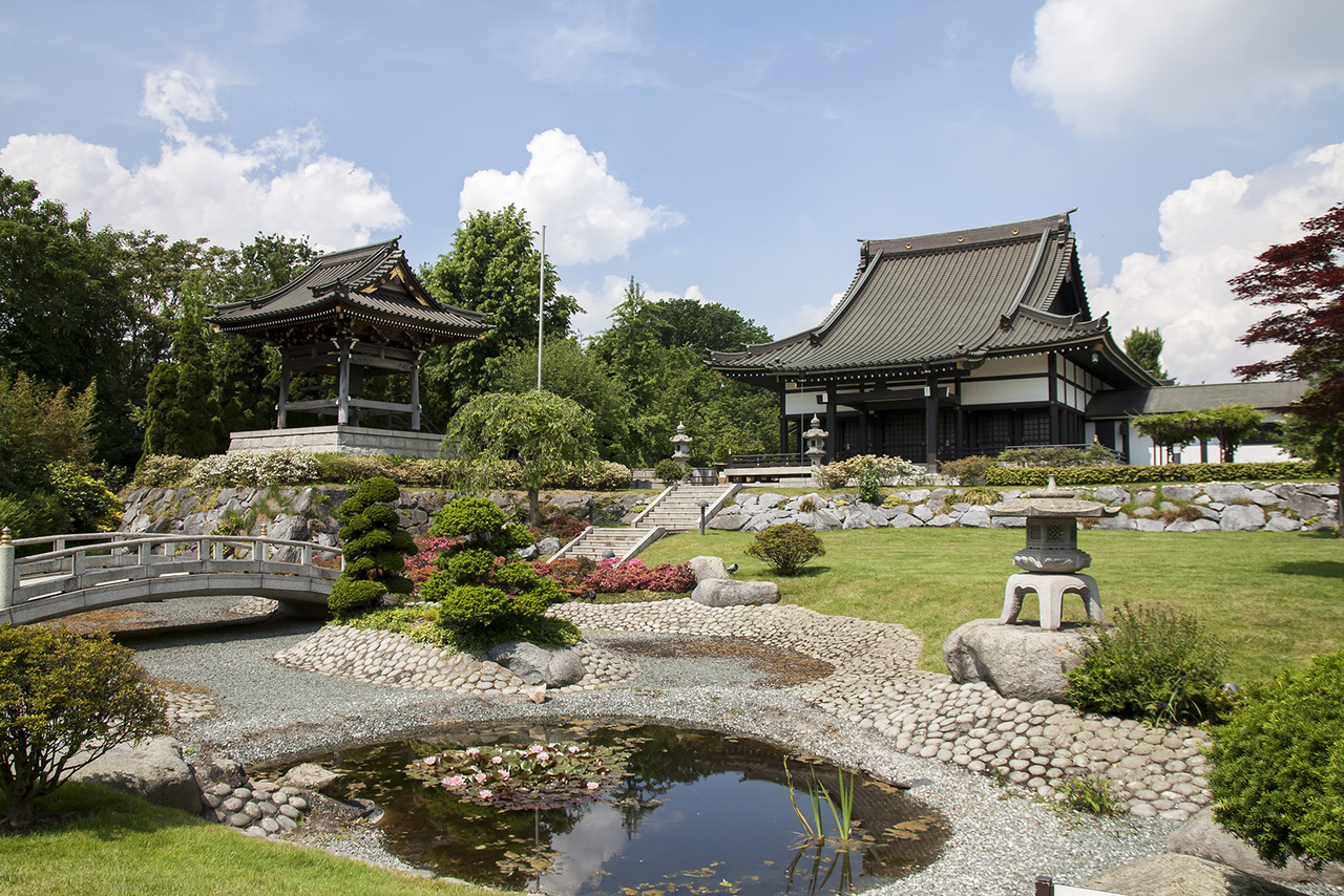 colors, garden, and japan image
