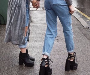 grunge, shoes, and jeans image