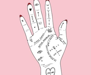 pink, hand, and hands image