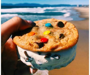 food, beach, and summer image