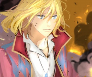 anime, howl's moving castle, and magic image