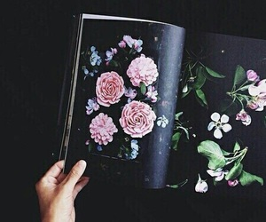 art, floral, and artsy image