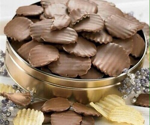 chocolate, food, and chips image