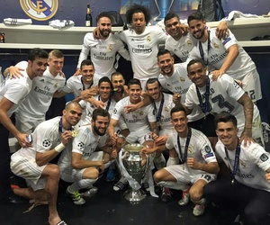 real madrid, team, and campeones image