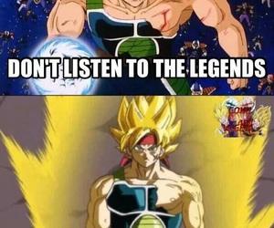 anime, legend, and dragon ball z image