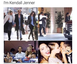 kendall jenner, funny, and single image