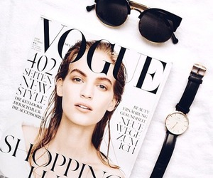vogue, fashion, and watch image