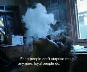 smoke, quotes, and fake image
