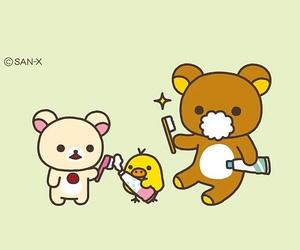 bear, rilakkuma, and wallpaper image