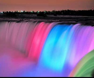 colors, waterfalls, and cool image
