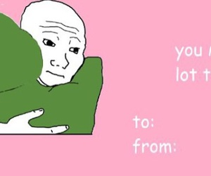 meme and valentines card image