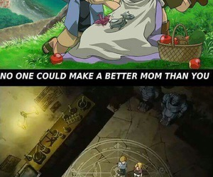 anime, sad, and fullmetal alchemist image