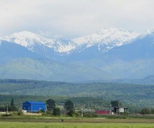 mountain, snow, and transylvania image