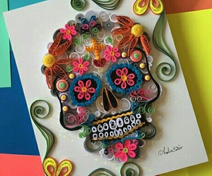 skull and mexican skull image