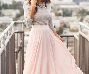 skirt, dress, and pink image