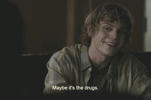 28 images about Quotes by Tate Langdon. on We Heart It | See ...