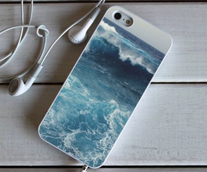 case, iphone, and ocean image