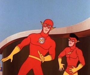 1967, flash, and old cartoon image