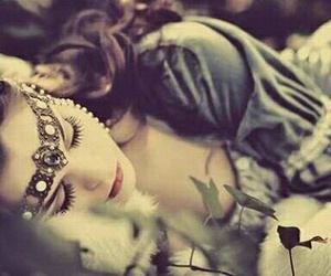 princess, sleeping beauty, and beauty image