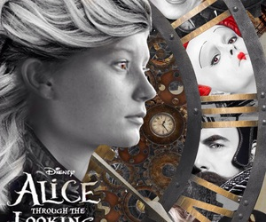 disney, through the looking glass, and disney alice image