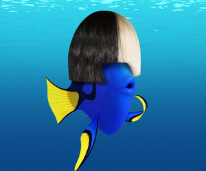 ️sia and finding dory image