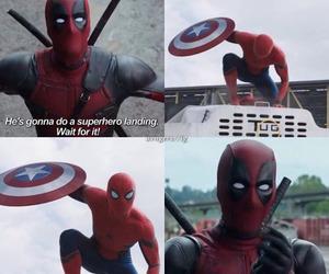 deadpool, spiderman, and yaoi image