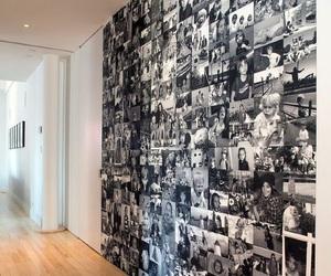 wall, photo, and room image