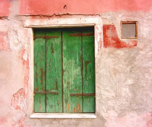 green, red, and rustic image