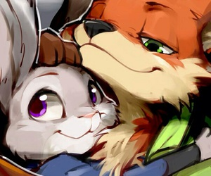 zootopia and love image