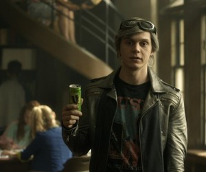 evan peters, x-men, and quicksilver image