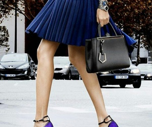 bag, fashion, and stiletto image