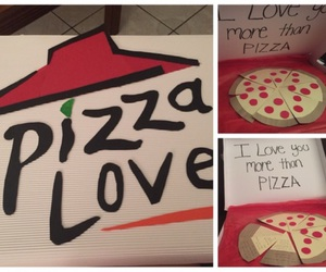 ideas, pizza, and love image