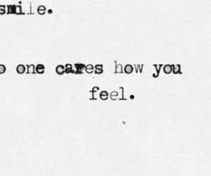 sad, depression, and smile image