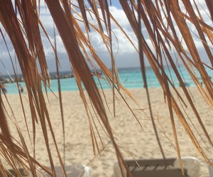 beach, sea, and can cun image