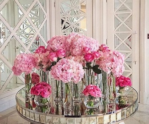barbie, glam, and pink roses image