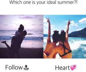 summer, follow, and love image