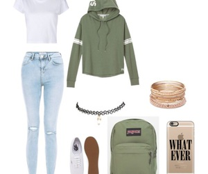 fashion, school, and ootd image