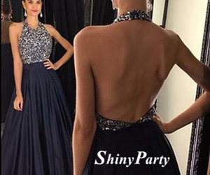 backless, black, and formal image