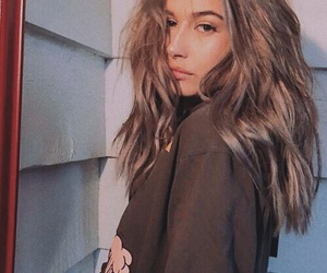 model, hailey baldwin, and hair image