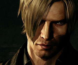 re6 and león image