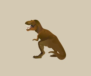 dinosaur, iphone, and t-rex image