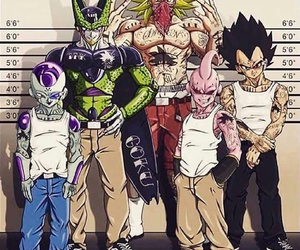 dragon ball z, cell, and freezer image