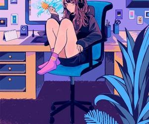 anime, girl, and inspiration image