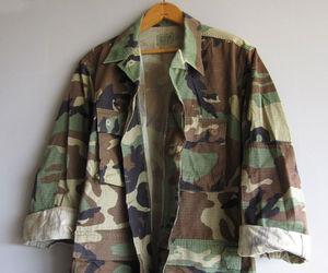 camo, coats & jackets, and ebay image