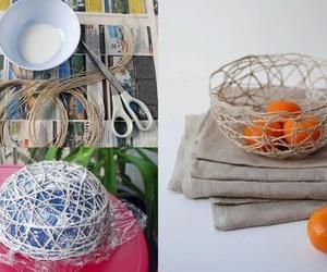 diy, bowl, and creative image