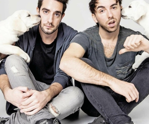alex gaskarth, jack barakat, and zack merrick image