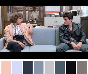 80s, color palette, and ferris bueller image
